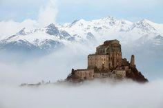 "italianways: "" Sacra di San Michele, Sant'Ambrogio di Torino, Piedmont. """