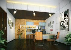 A brilliant #interiordesign can make home Offices & workspaces more attractive.