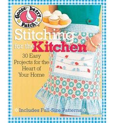 Using sewing, patchwork and embroidery, this title helps you create special touches for the home and hearth. It lets you stitch up aprons, casserole covers, teapot and mug cozies, potholders, trivets and hot pads, kitchen organisers, tablecloths, napkins, runners and more. It also features two 28