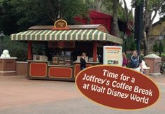Time for a Joffrey's Coffee Break - Where you can find Joffrey's Coffee at Walt Disney World