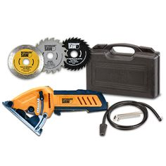 Rotorazer   Exclusive Web Offer! Small Saw, Tile Saw, Safety Switch, Hand Saw, Circular Saw, All In One, Locker Storage, Steel, Surface