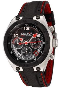 SECTOR SPORT WATCH Mod. SK EIGHT CHRONO Serial 86889 Gents 9158e60881