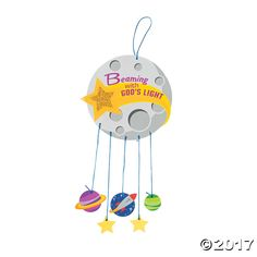 We're over the moon for this fun kids' craft idea! Perfect for VBS students of any age, this mobile sign is easy to make and features whimsical ...