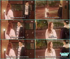 oh sung came to hwa shin house and when he told he is going to seoul university she told she had a dream of kissing seoul university guy - Jealousy Incarnate - Episode 17 (Eng Sub) cho jung seok & ko Sung Hee