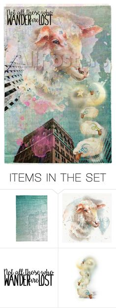 """*not all those who wander are lost*"" by karineg ❤ liked on Polyvore featuring art"