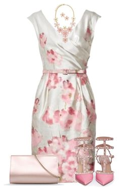 """Valentino Dress"" by allysha-fa ❤ liked on Polyvore featuring Valentino and Alberta Ferretti"