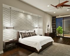 Home Decor Contemporary Bedroom.