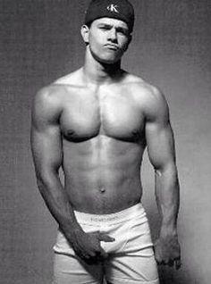 Mark Wahlberg, he's my boyfriend. :) mmm
