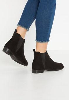 Bestill Anna Field Ankelboots - black for kr med gratis frakt på Zalando. Heeled Mules, Booty, Ankle, Heels, How To Wear, Black, Fashion, Heel, Moda