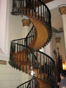 Best The Spiral Stairs Of Loretto Chapel In Santa Fe New 640 x 480