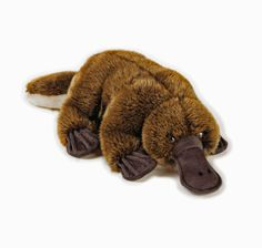 Platypus soft plush Stuffed Animal toy - National Geographic