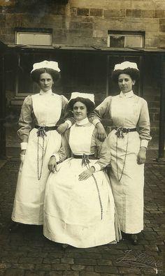Three Asylum Nurses Devizes | Great details including whistl… | Flickr