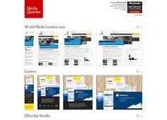 Responsive Design Web Resource. http://mediaqueri.es/