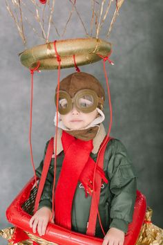 The cutest hot air balloon costume!
