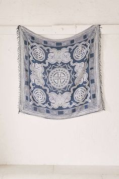 4040 Locust Ozume Indigo Tapestry