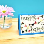 Project: Colorful Bunting Card for Any Occasion | MAKE: Craft