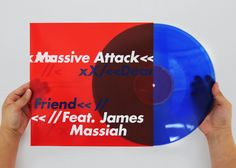 Massive Attack Vinyl Record. If you want to customize a good-looking vinyl packaging, visit www.unifiedmanufacturing.com.