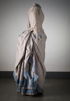 Day dress ca. 1880's    From the Nordiska Museet