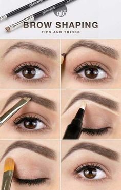 Brow Shaping Tutorials - How To Achieve Wow Eyebrows - Awesome Makeup Tips for How To Get Beautiful Arches, Amazing Eye Looks and Perfect Eyebrows - Make Up Products and Beauty Tricks for All Different Hair Colors along with Guides for Different Eyeshadow