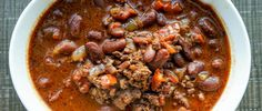 Chipotle Chocolate Bison Chili Recipe
