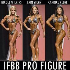 OLYMPIA 2013 | Ms Figure Olympia - Top 3 nicole wilkins erin stern candice keene