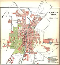 Uppsala, Illustrated Maps, Cities, Spa, Places, Design, Historia, Pictures, Lugares