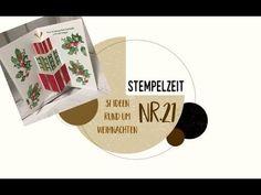 31 Ideen rund um Weihnachten: Nr. 21 - Pop - up Karte mit Geschenken - YouTube