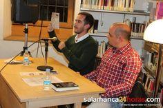 Antonio Portela Lectura en voz alta en 2ª planta de la Biblioteca conmemorando los 20 años de la Biblioteca
