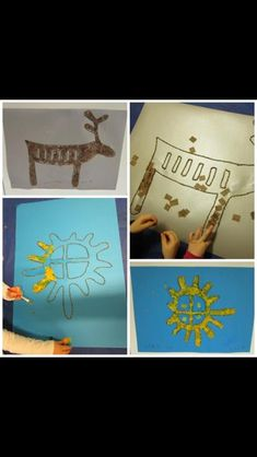 Frugal Christmas, Christmas Crafts, Preschool Games, Activities For Kids, Craft Stick Crafts, Crafts For Kids, Reindeer Craft, Camping Crafts, Baja California