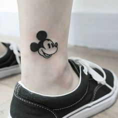 mickey and minnie mouse tattoo15