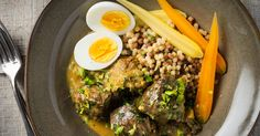 With lemon and egg, this braise almost cooks itself.