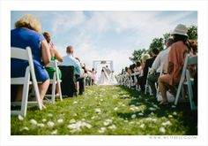 Beautiful ceremony at Sprucewood Shores Estate Winery, captured by Wet Fresco Photography!  www.weddingshows.com