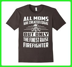 Mens Moms are created equal - The finest raise firefighter  Large Asphalt - Careers professions shirts (*Amazon Partner-Link)