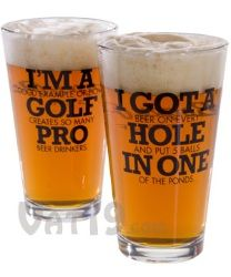 funny golf beer pint glass - for Brian! Tips And Tricks, Golf Ball Crafts, Golf Outing, Golf Humor, Funny Golf, Perfect Golf, Golf Player, Golf Quotes, Hole In One