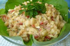 Salad Recipes, Dessert Recipes, Cold Dishes, Hungarian Recipes, Salad Dressing, Food Hacks, Food Tips, Potato Salad, Bacon