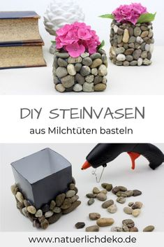 DIY decoration with wooden disc - a creative wall decoration to imitateDIY decoration with wooden disc. Make DIY wall decoration yourself. Gift ideas to imitate.Make DIY vases from milk Upcycled Crafts, Diy Home Crafts, Crafts For Kids, Recycled Decor, Creative Crafts, Yarn Crafts, Kids Diy, Recycled Materials, Holiday Crafts
