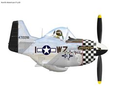 """North American P-51D 84th Squadron 75th Fighter Group """"Big Beautiful Doll"""""""