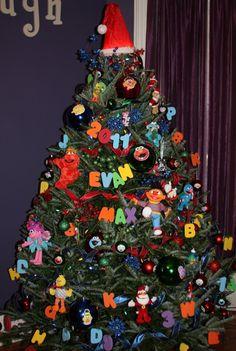 Sesame Street Christmas Tree Christmas Diy Christmas
