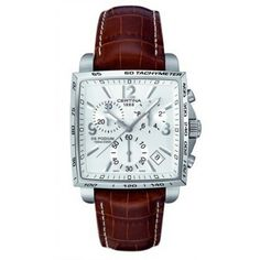 Certina Watch DS Podium Square Chrono Quartz Watch available to buy online  from with free UK delivery. 24eed0d224