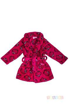 Robe de chambre Hello Kitty fuschia   https://www.facebook.com/Toluki #Toluki #enfant #mode