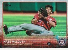 2015 Topps Baseball Rainbow #676 Nate McLouth - Washington Nationals