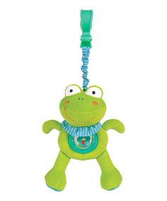 Take a look at this Froggy Shake & Wiggle Buddy by Small World Toys on #zulily today!
