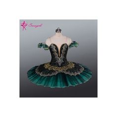 2015 New Arrival!Adult green Ballet Tutu for performance,professional... ❤ liked on Polyvore featuring activewear