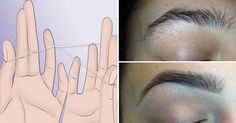 This is an ancient method of hair removal that requires only a single thread to remove hair from eyebrows or other body parts. This method is not only cleaner and faster, but also it has very low level of pain. If you are in a look for a way how to shape your eyebrows like