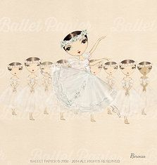 Ballet Papier   ballet drawings Giselle   ballet products