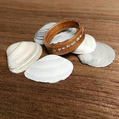 Beautiful Wooden rings and functional necklace Ancient Japanese Art, Wooden Rings, Design, Wood Rings