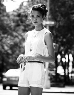 #style White on white.