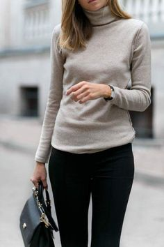 7338109f498 40 Cozy Cashmere Sweater Styles to Rock this Season