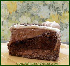 Chocolate Ice Cream Cake | www.BakingInATornado.com | #recipe #cake
