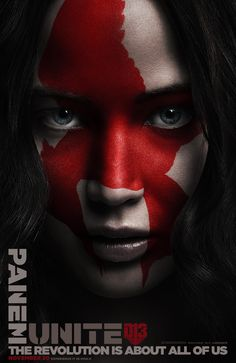 Katniss Everdeen; a symbol of hope, leader of the revolution… the Mockingjay. #Unite